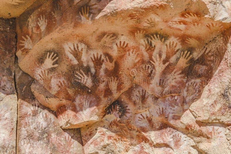 Cueva de las Manos, Παταγωνία, Αργεντινή στοκ εικόνες με δικαίωμα ελεύθερης χρήσης