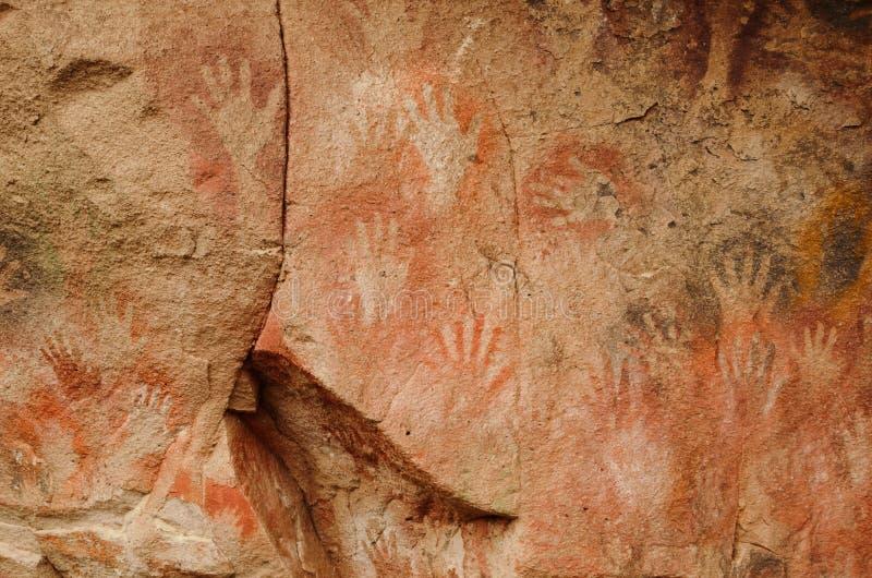 Cueva de las manos στοκ φωτογραφίες με δικαίωμα ελεύθερης χρήσης