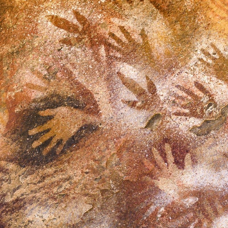Cueva de las Manos, Patagonia, la Argentina imagenes de archivo