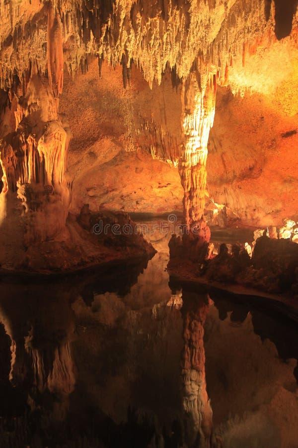 Cueva de las Maravillas 多米尼加共和国 免版税库存照片