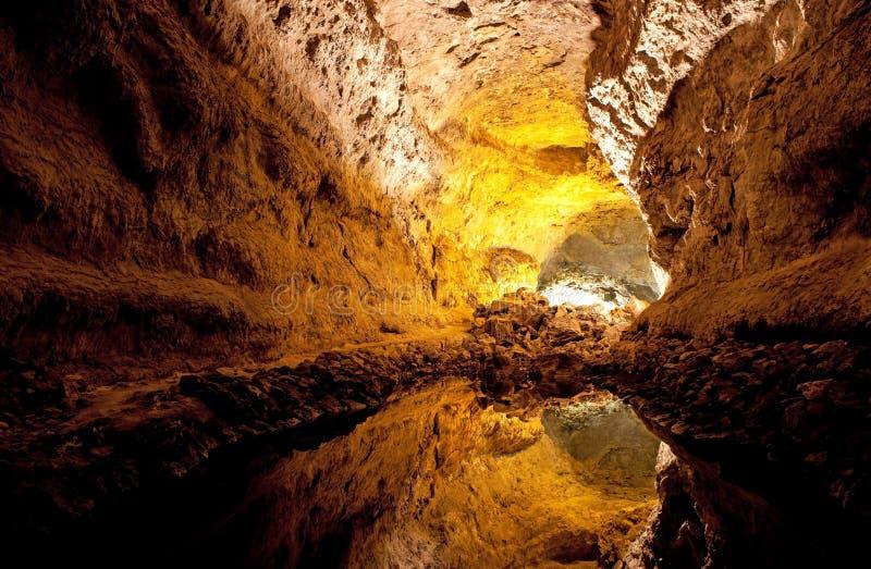 Cueva de los Verdes stock image