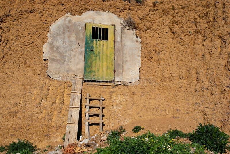 Cueva del almacenaje foto de archivo libre de regalías