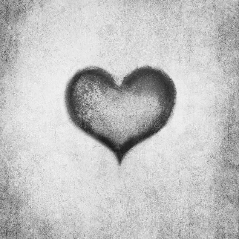 Cueva del corazón stock de ilustración