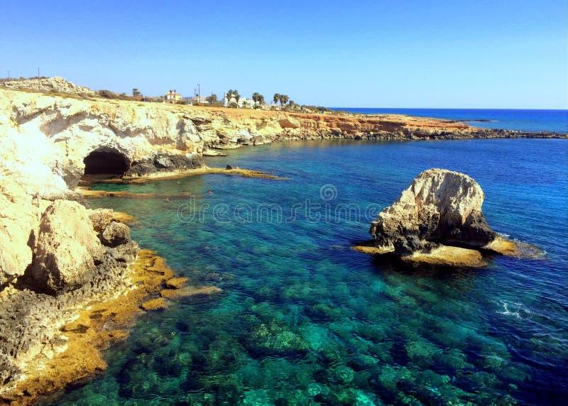 Cueva del mar fotos de archivo libres de regalías