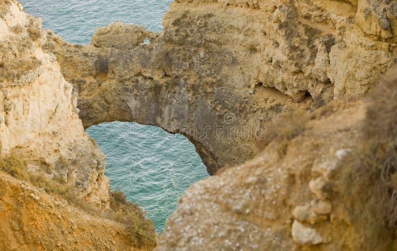 Cueva del océano fotografía de archivo libre de regalías