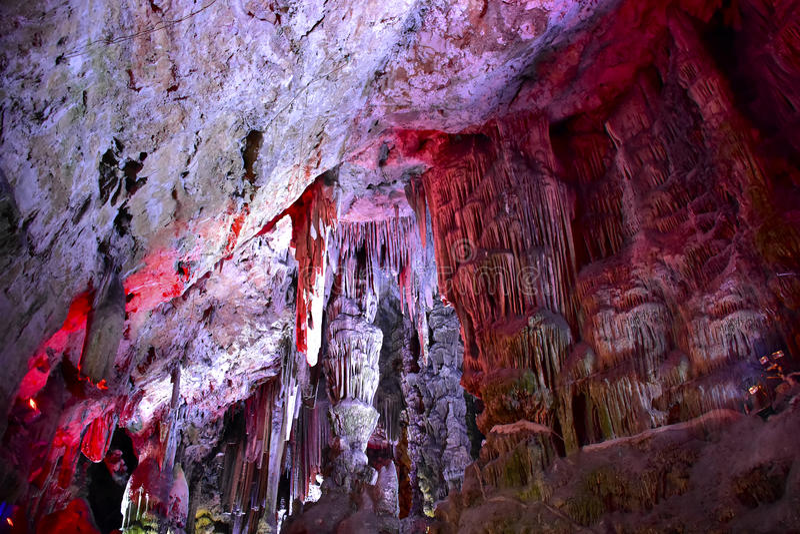 Cueva del ` s de San Miguel fotos de archivo