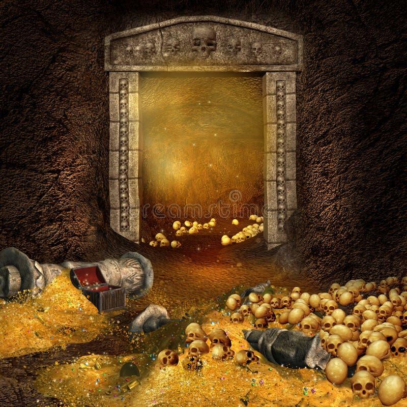 Cueva del tesoro libre illustration