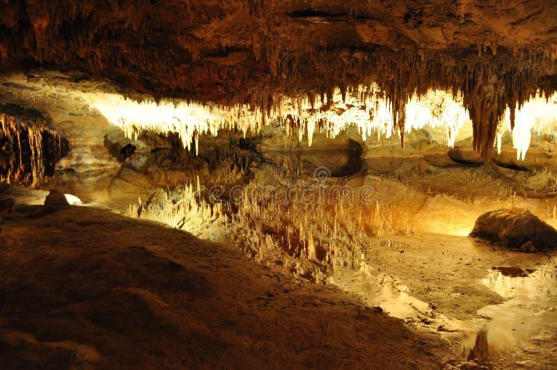 Cueva gigante, Virginia foto de archivo libre de regalías