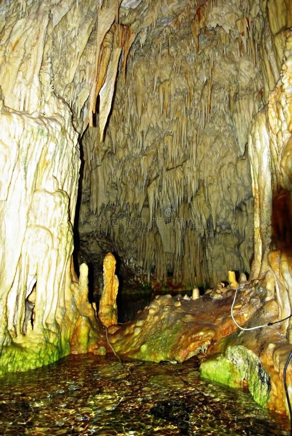 Cueva interior fotografía de archivo