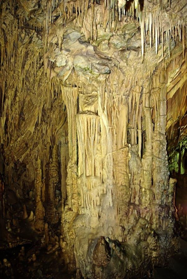 Cueva interior imagen de archivo libre de regalías