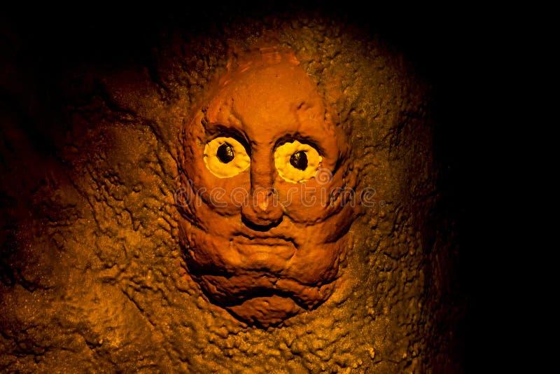 Cueva misteriosa sagrada imágenes de archivo libres de regalías