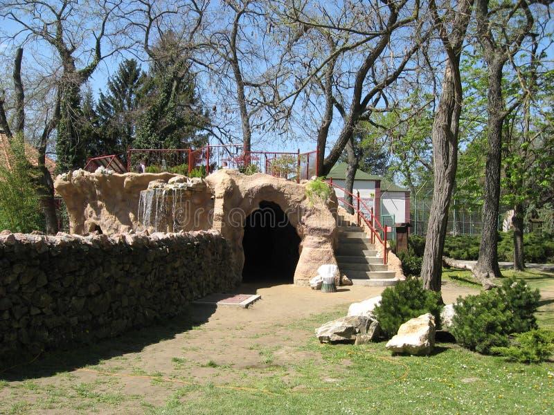 Cueva, piedra, piel, Sunnyday, animales foto de archivo libre de regalías