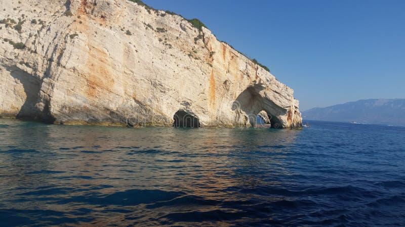 Cuevas azules fotos de archivo
