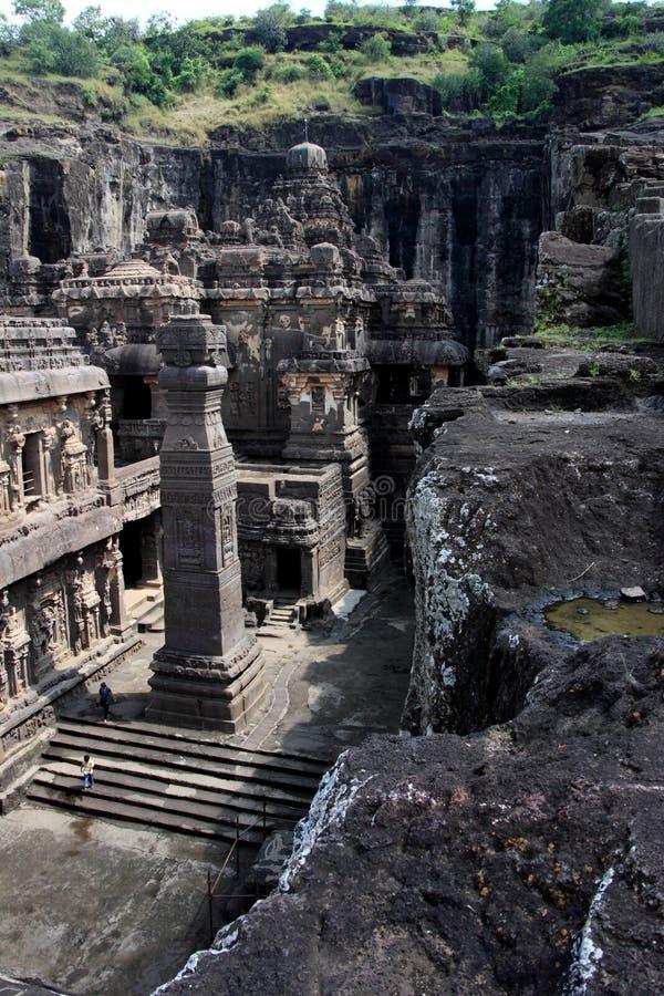Cuevas de Ajanta fotografía de archivo libre de regalías