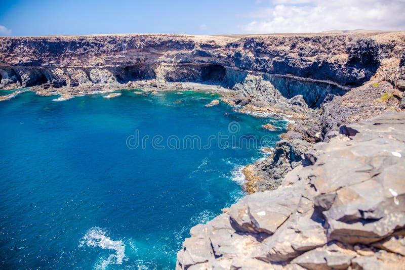 Cuevas de Ajuy imagem de stock