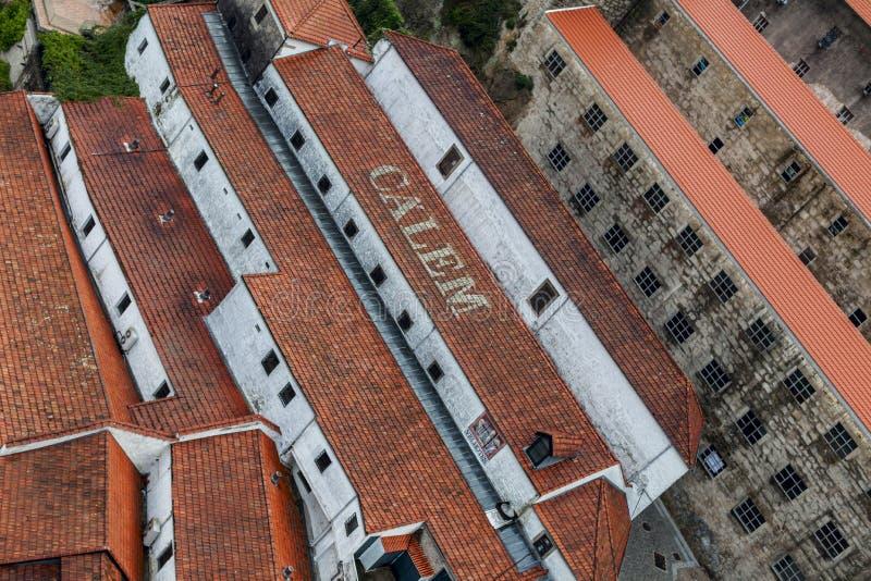 Cuevas de Calem en Oporto fotos de archivo