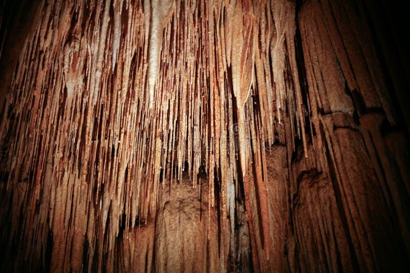 Cuevas de Hastings fotos de archivo