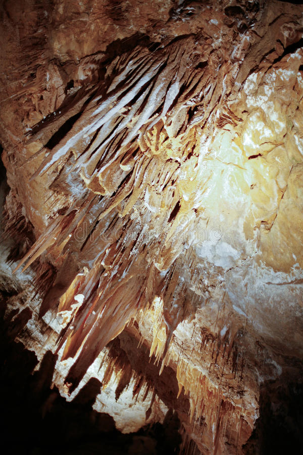 Cuevas de Hastings foto de archivo libre de regalías