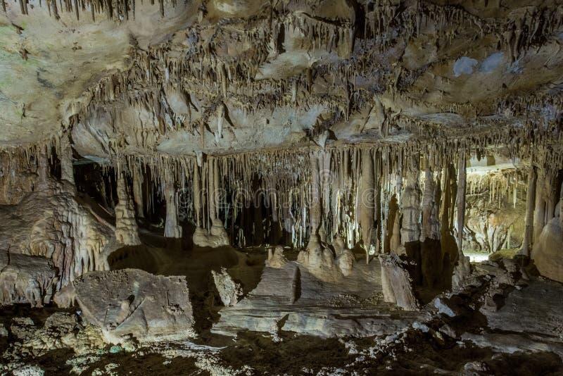 Cuevas de Lehman foto de archivo