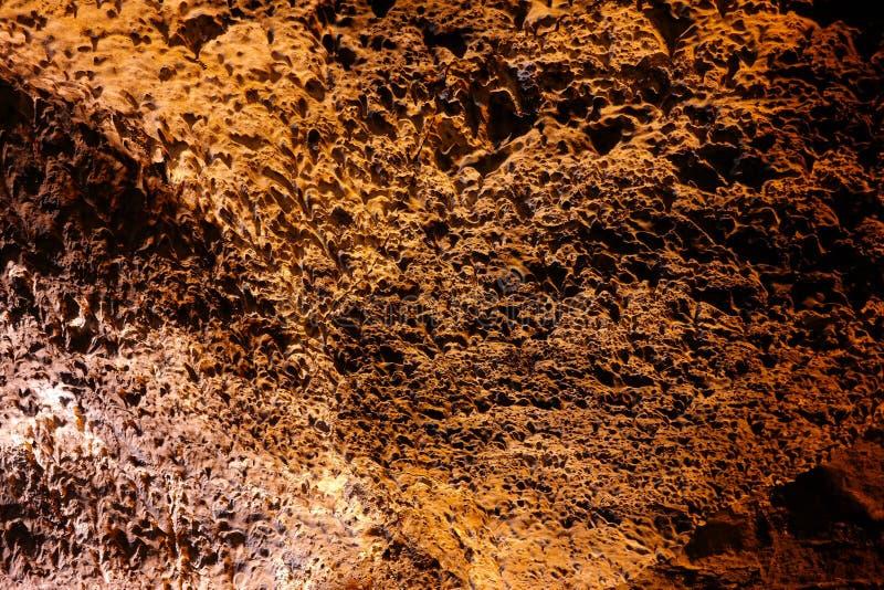 Cuevas de los verdes, lanzarote, ilha dos canarias imagens de stock royalty free