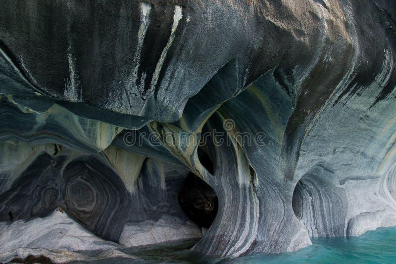 Cuevas de mármol hermosas fotos de archivo