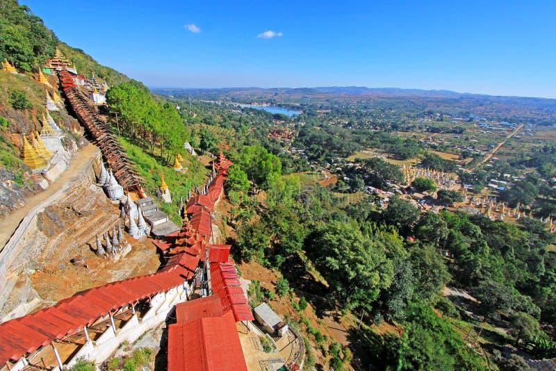 Cuevas de Pindaya, Pindaya, Myanmar foto de archivo