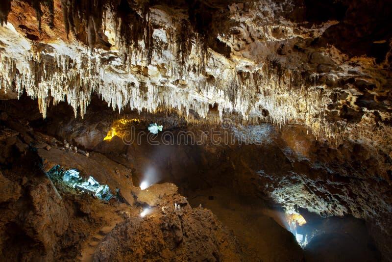 Cuevas de Soplao imagenes de archivo
