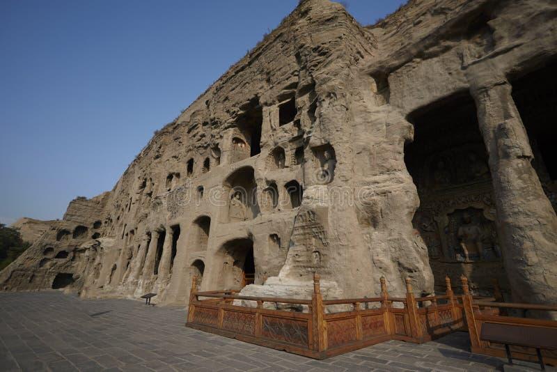 Cuevas de Yungang fotografía de archivo libre de regalías
