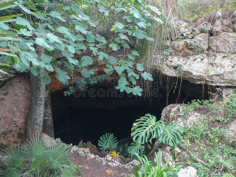 Cuevas Del Drach zawala się w Majorca obrazy stock
