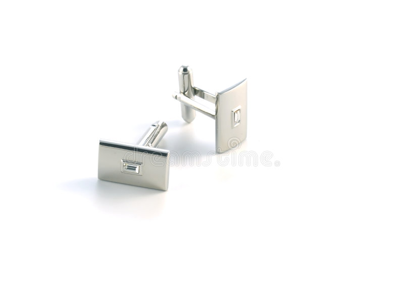 Download Cuff link stock photo. Image of suit, crystal, isolated - 4554084