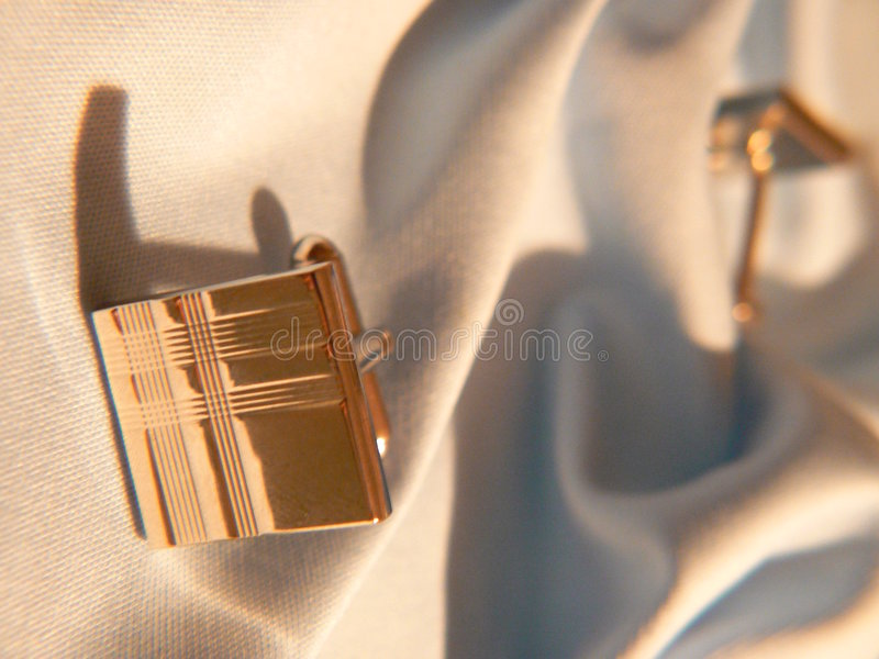 Cuff links. royalty free stock images