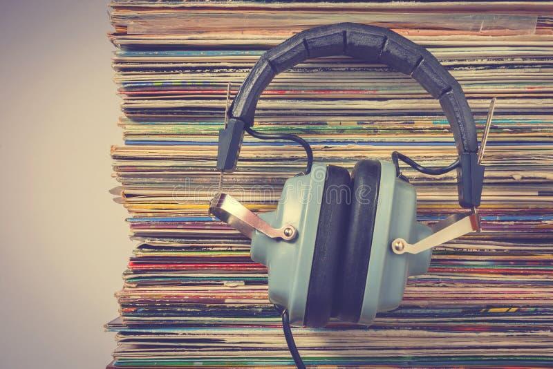 Cuffie Audiophile immagine stock libera da diritti