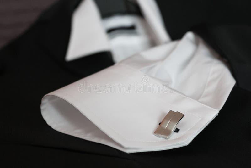 Cufflinks stock fotografie