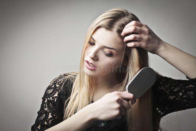 Cuidado de cabelo foto de stock royalty free