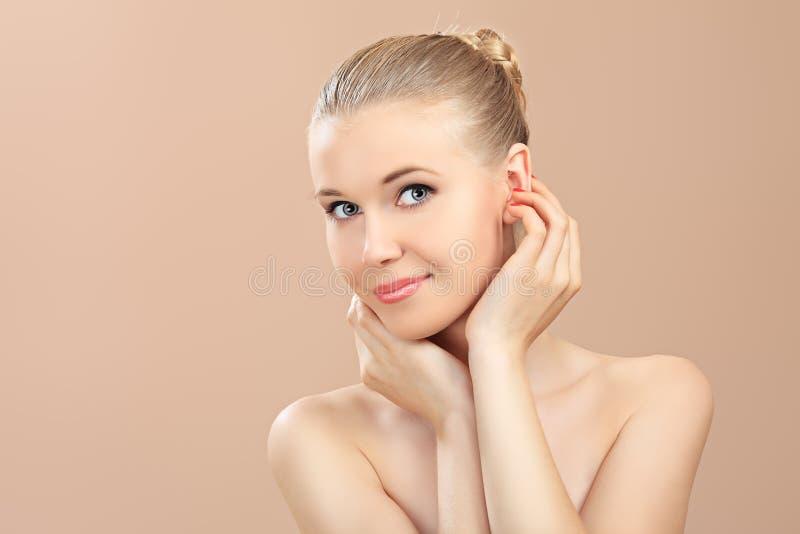 Cuidado de los cosméticos foto de archivo