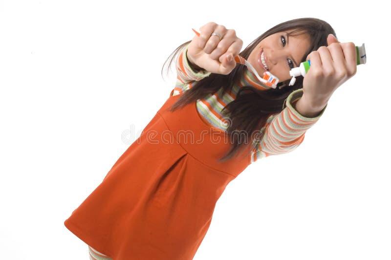 Cuidado de los dientes foto de archivo libre de regalías