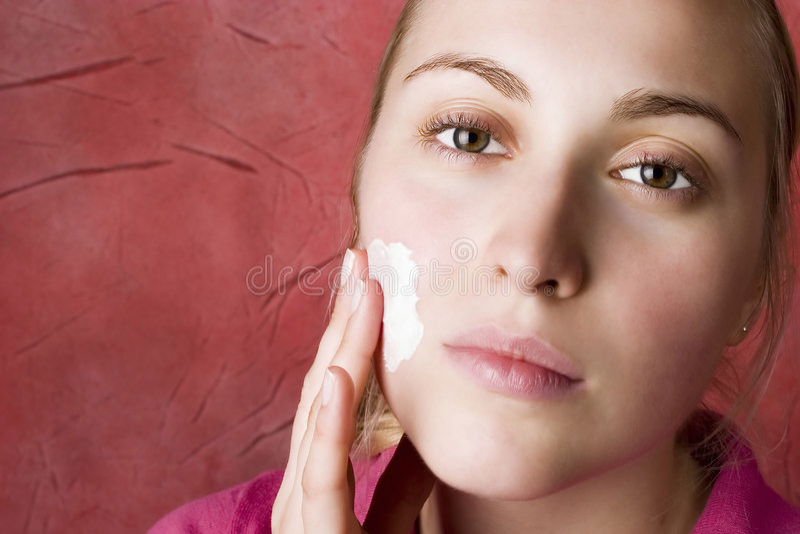 Cuidado de pele. Beleza. foto de stock royalty free