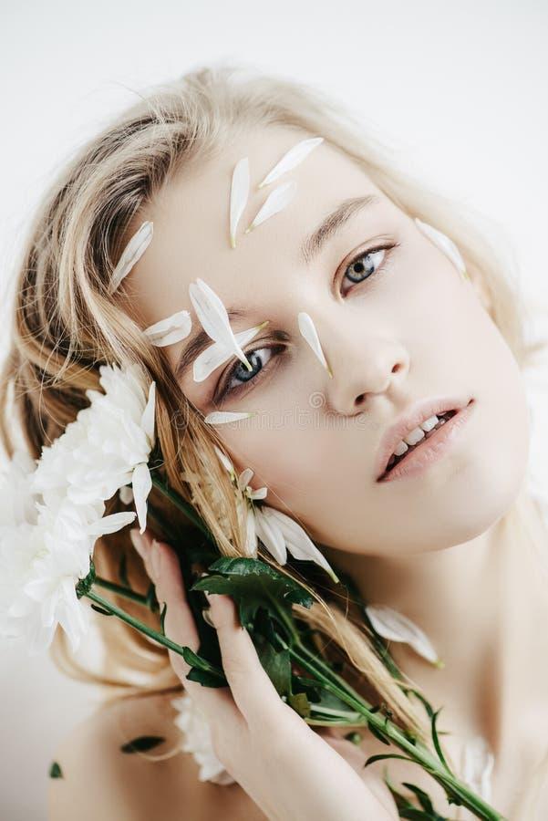Cuidado de piel natural fotografía de archivo libre de regalías
