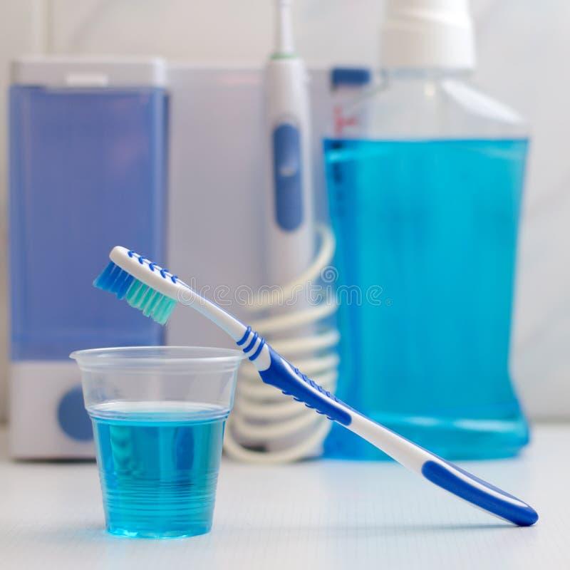 Cuidado del equipo dental Irrigator para la boca fotografía de archivo libre de regalías