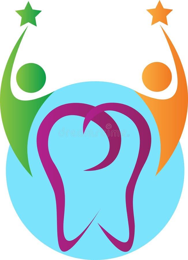 Cuidado dental de la gente ilustración del vector