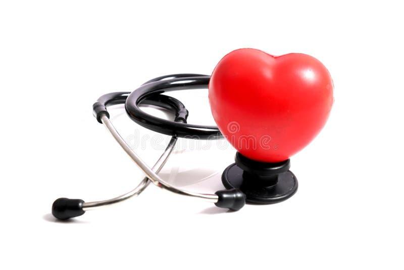 Cuidado do coração imagens de stock
