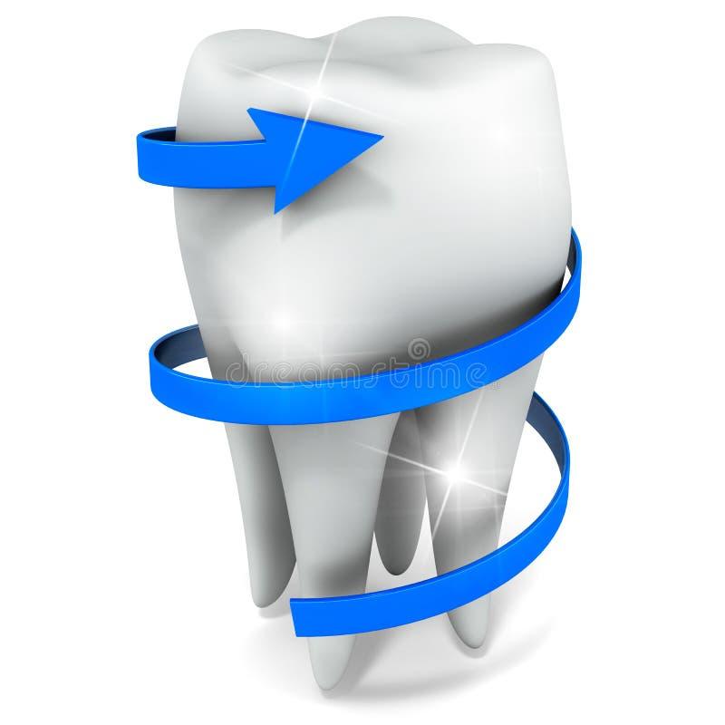 Cuidado do dente ilustração stock