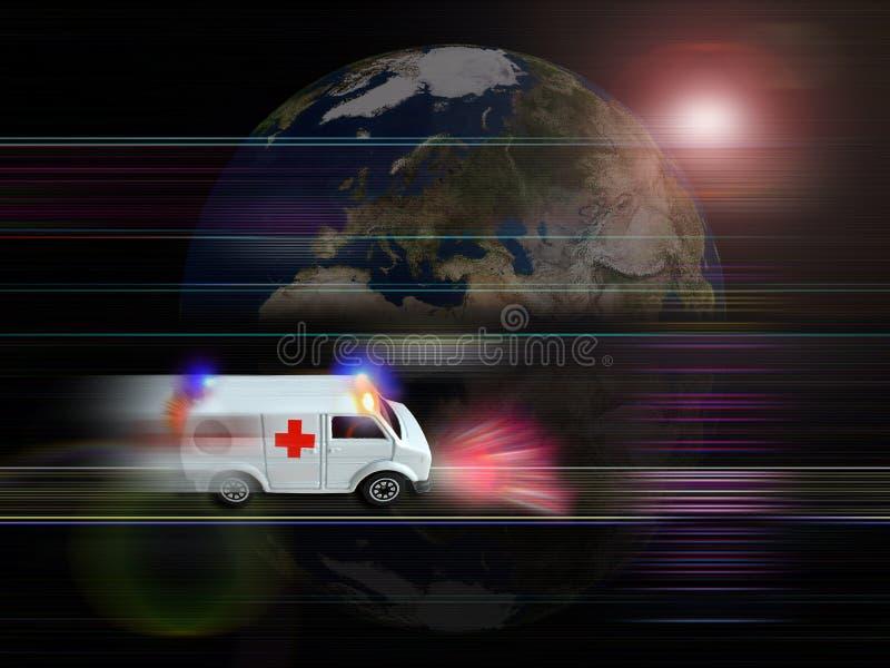 Cuidado médico stock de ilustración