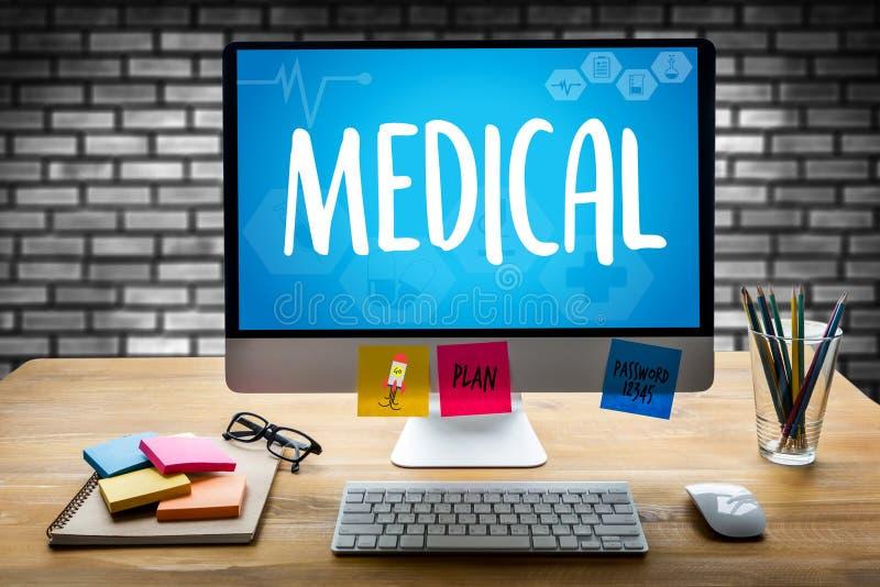 Cuidado médico m do bem estar da saúde do serviço médico médico da saúde fotografia de stock
