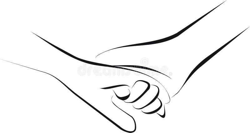 Cuidado paliativo ilustración del vector