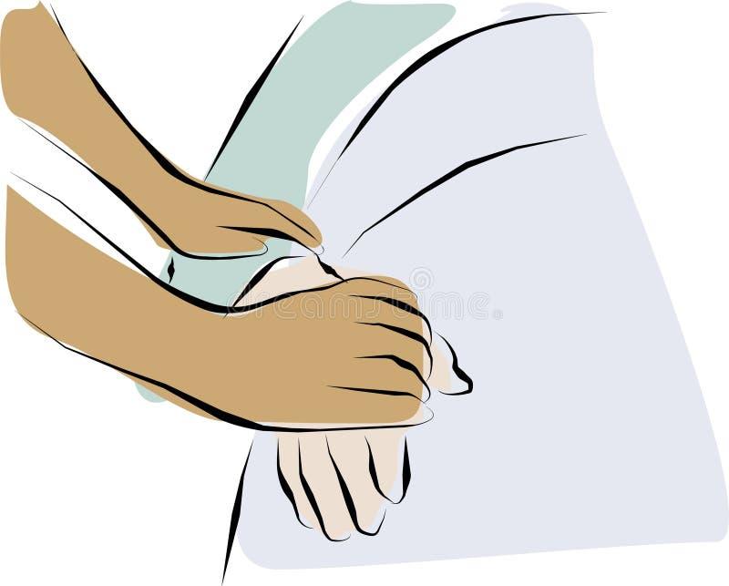 Cuidado paliativo libre illustration