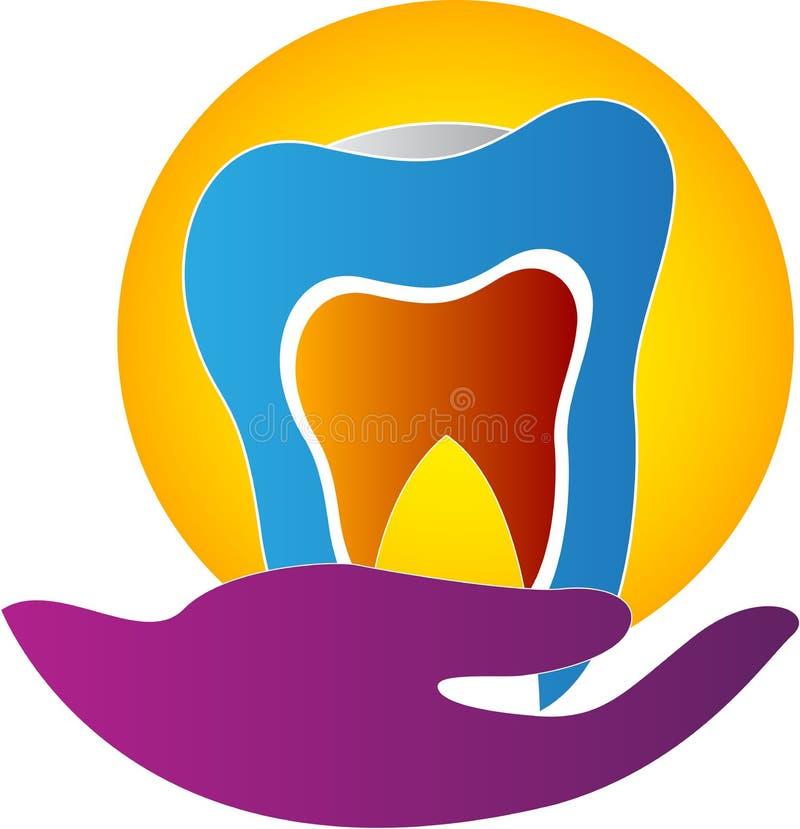 Cuidados dentários ilustração stock