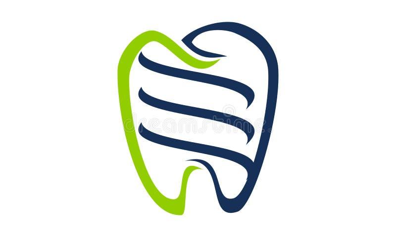 Cuidados dentários saudáveis ilustração do vetor