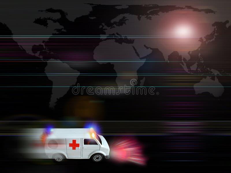 Cuidados médicos ilustração do vetor