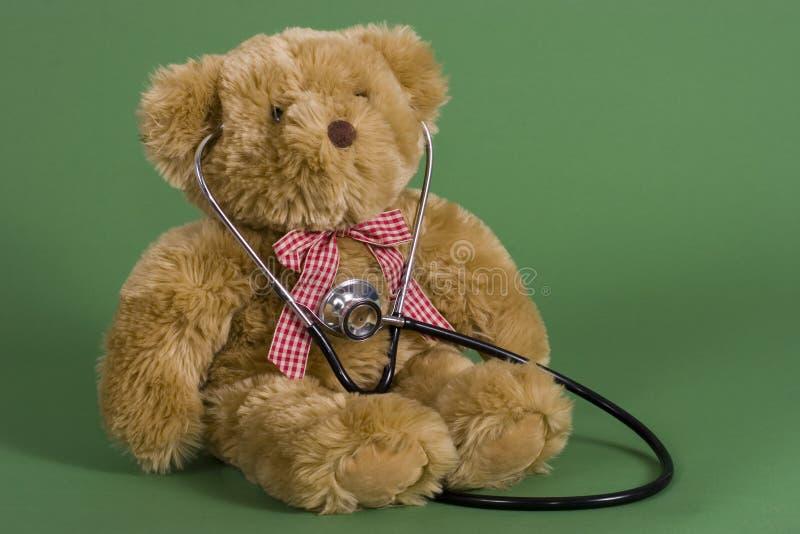Cuidados médicos das crianças foto de stock